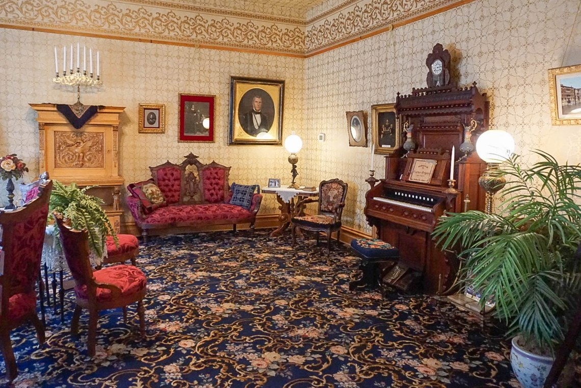 Ivinson Mansion Drawing Room - Wyoming Women