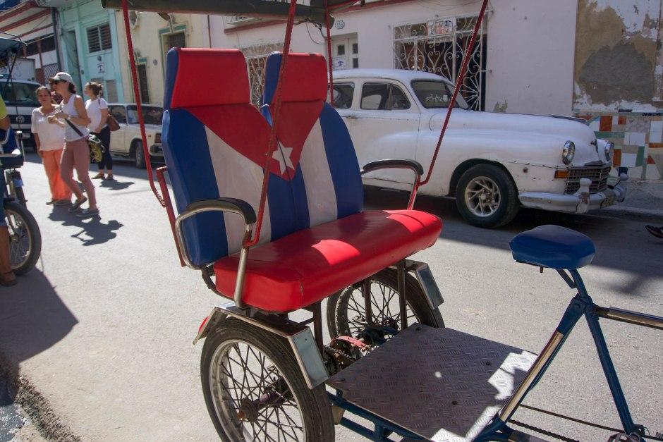 Bicitaxi Havana Cuba