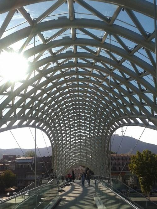 Tiflis – Friedensbrücke
