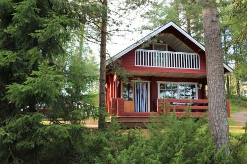 Übernachten im hohen Norden – Muhos, Finnland