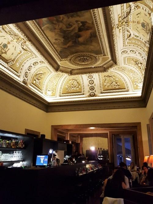 Essen im Palast: Palácio Chiado