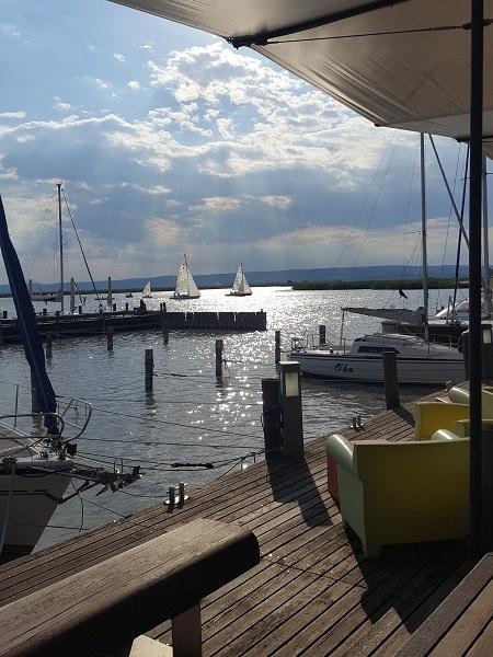 Wenn schon am Neusiedlersee, dann ein Besuch in der Mole West