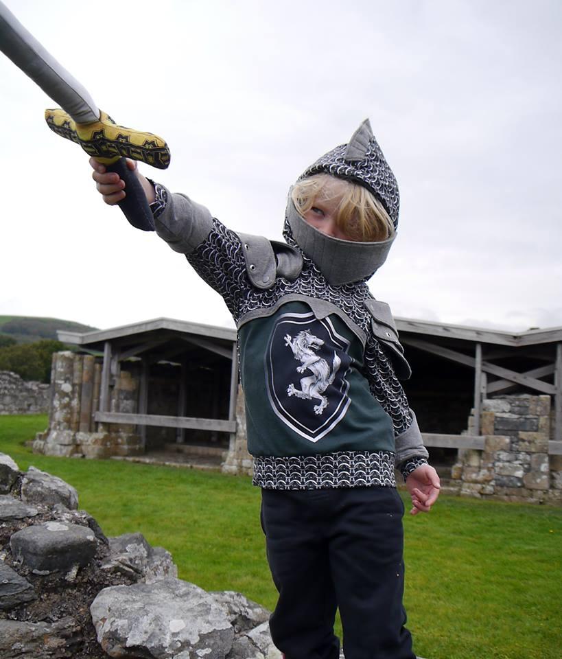 9ddfe91f Mother Grimm Ser Gawain Knight Hoody Sewing Pattern PDF (Age 2 – 14 ...