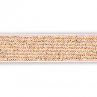 "Rose Gold Elastic 1/"" Rose Gold Waistband Elastic Prym 25mm Skirt Elastic"