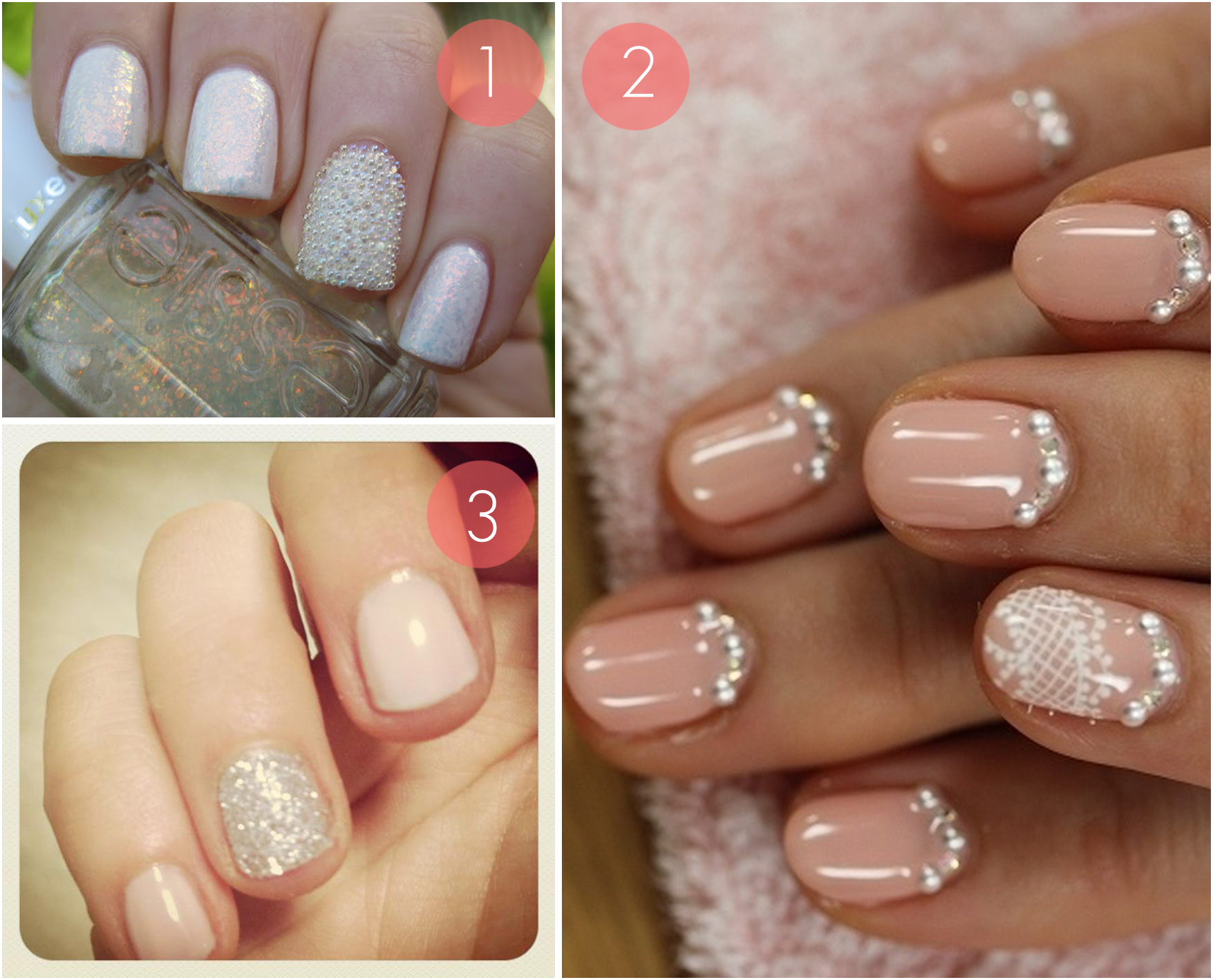 9 Trendy Nail Art Designs For Your Wedding Day