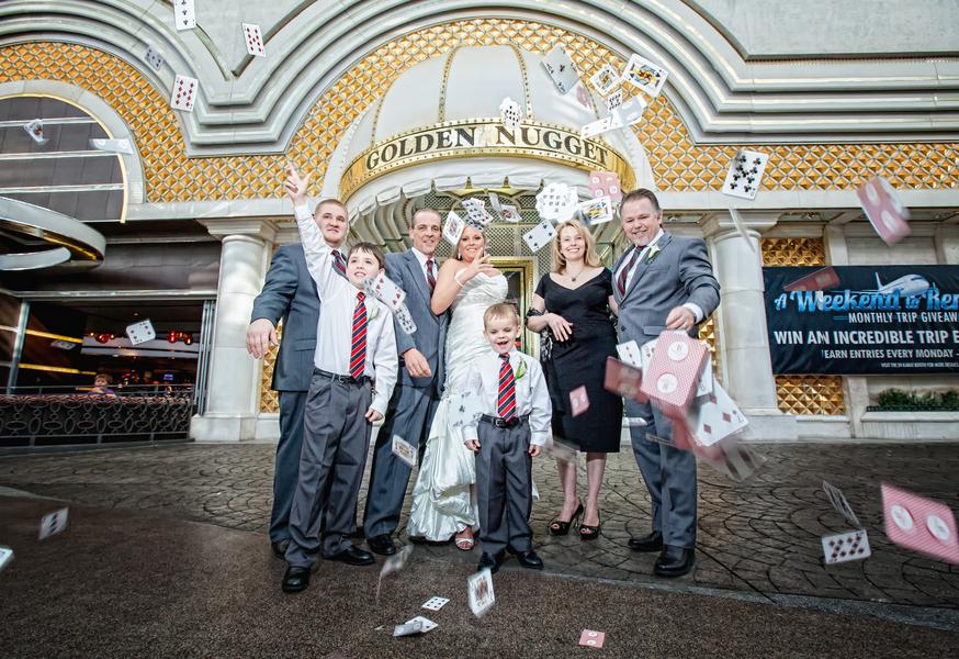 Vegas Weddings Golden Nugget