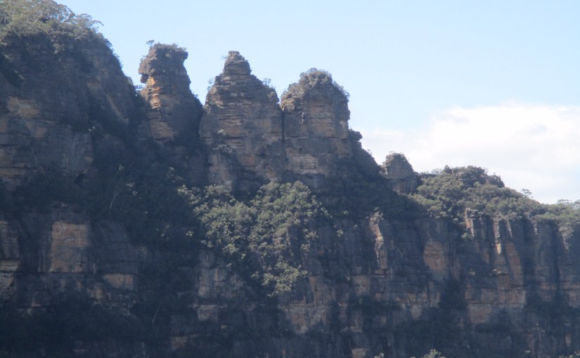 A Day in the Blue Mountains of Australia