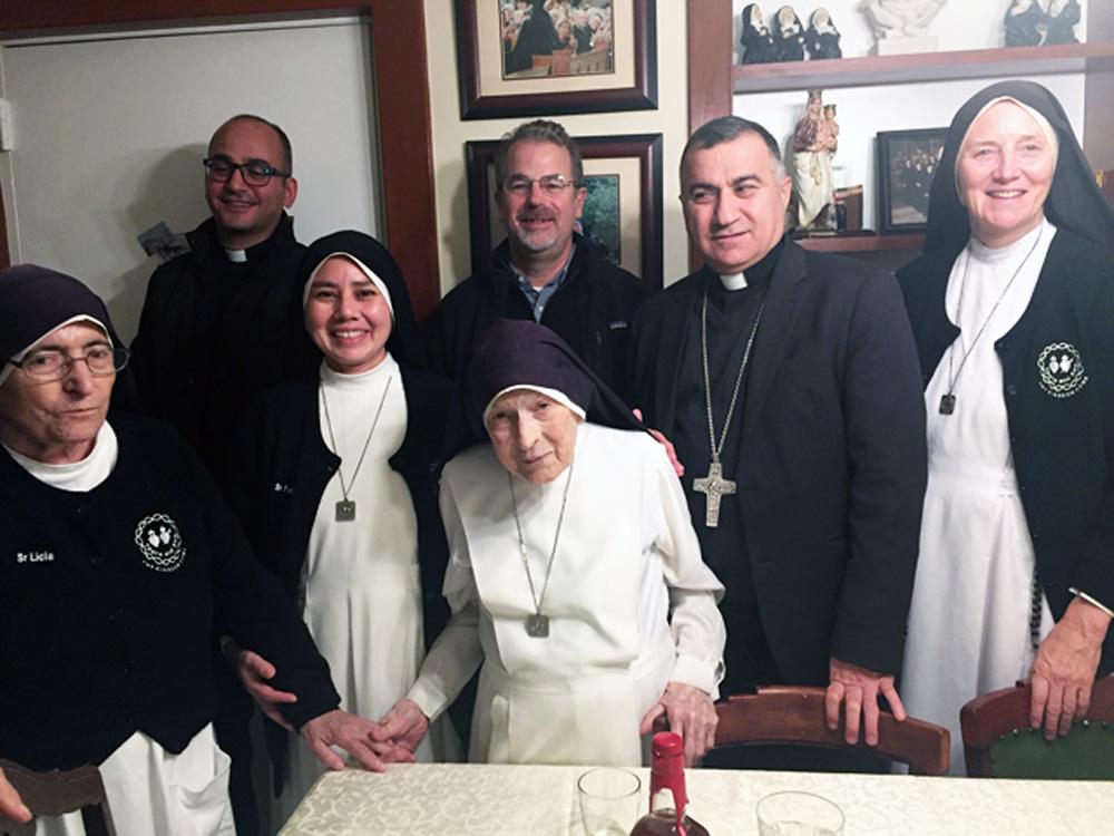Archibishop Warda-Iraq visiting DC house