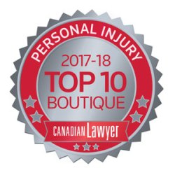 Top 10 Personal Injury 2017/18