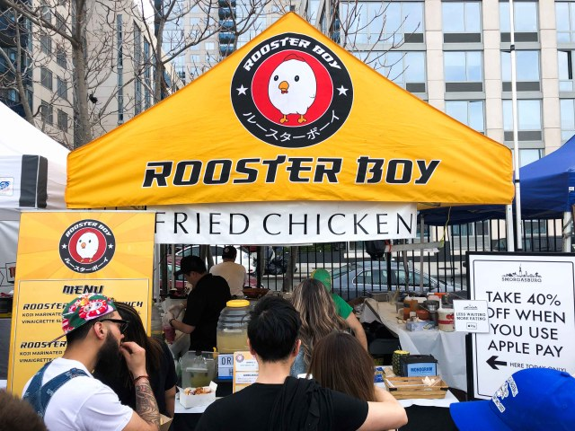 Rooster Boy Stand