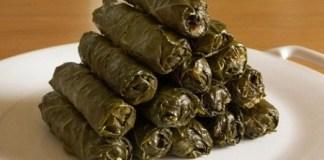 Виноградные листья с мясом (Mihshi Waraak Inaab bel Lahmeh)