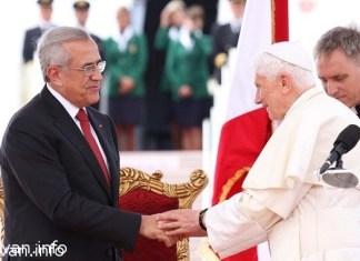 Папа Римский Бенедикт XVI посетил Ливан