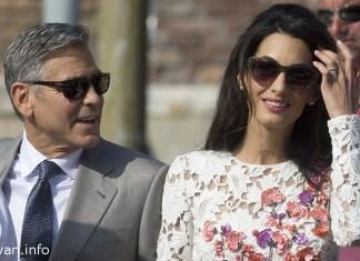 Джордж Клуни женился на ливанке Амаль Аламуддин