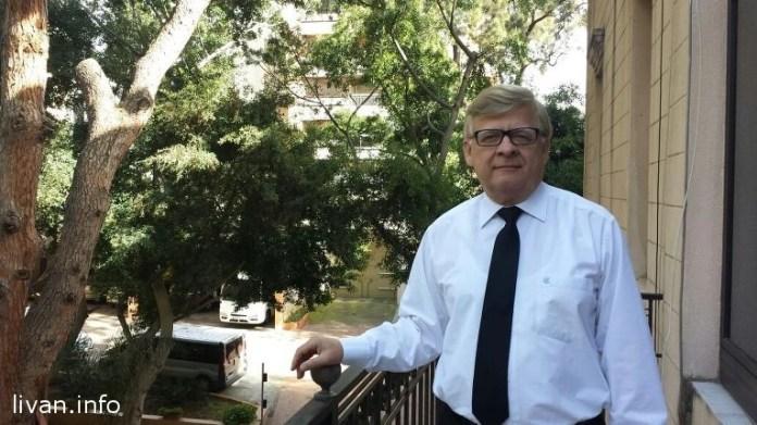Посол России в Ливане Александр Засыпкин
