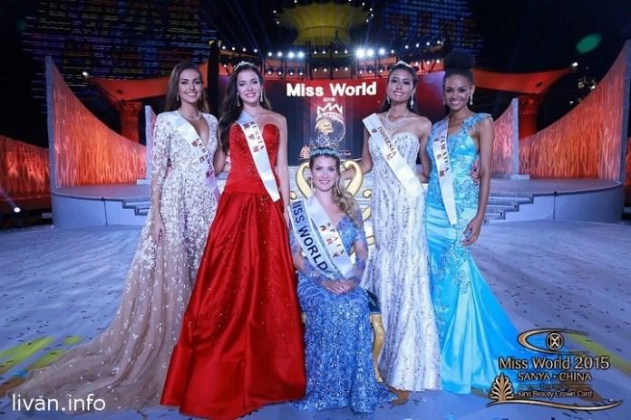 Мисс Ливана Валери Абу Шакра вышла в финал Мисс Мира 2015