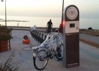 Система совместного использования велосипедов в Библосе