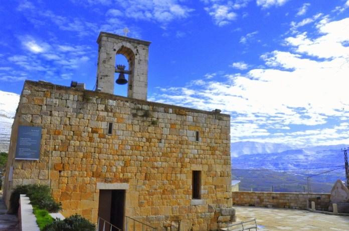 Церковь Святой Мемы, старейшая маронитская церковь в Ливане