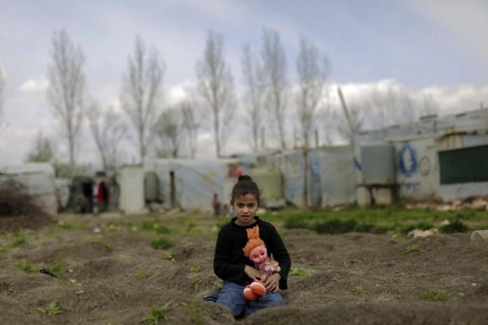 Беженцы из Сирии в Ливане