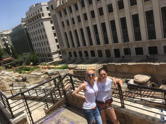 Украинские артисты Тоня Матвиенко и Арсен Мирзоян побывали в Ливане