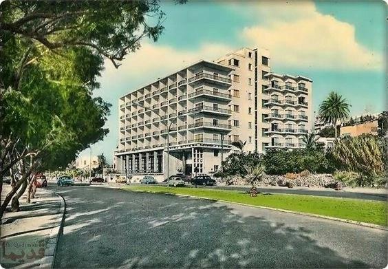 Ривьера отель в 60х