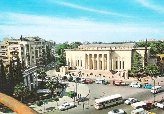 Музей Бейрута в 70х