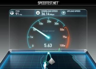 На каком месте Ливан в мировом рейтинге скорости мобильного интернета?