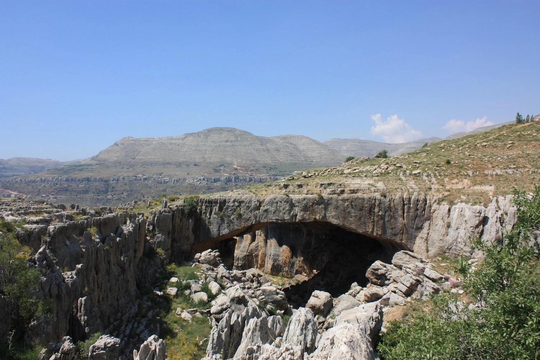 Природный мост Кфардебиан, Ливан