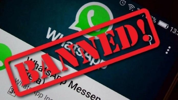 Whatsapp блокирует всех участников групп с подозрительным названием.