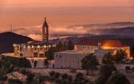 Монастырь Святого Марона на закате