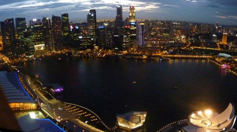 Skyline, Marina Bay Area, Where to Stay in Singapore on a budget