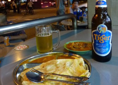 Roti Canai, Geylang Area, Where to Stay in Singapore on a Budget