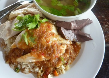 Thai Chicken Rice, Top Bangkok Street Food, Thailand Cheap Eats