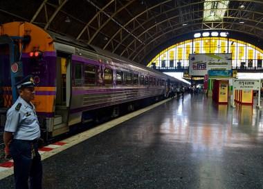 Bangkok Hua Lamphong, Malaysia to Thailand by Train From Kuala Lumpur