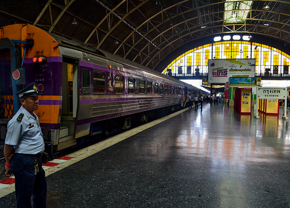 Hua Lamphong, Bangkok to Malaysia by Train Padang Besar Penang Butterworth