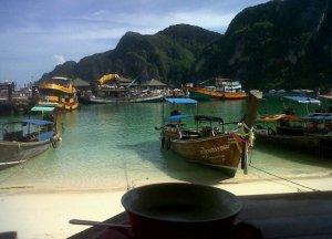 Port of Ko Phi Phi Don, Low season in Krabi Thailand, southeast asia