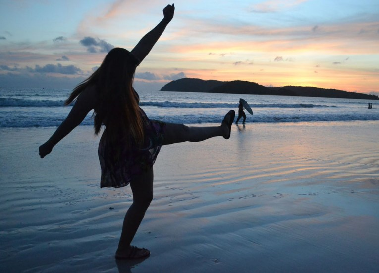 Quick Guide to Langkawi, Evening Sun Set on Pantai Cenang Beach