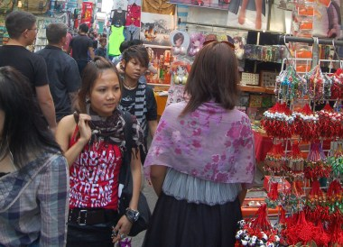 Mongkok Ladies Market, Best Thai VISA Runs from Bangkok Thailand
