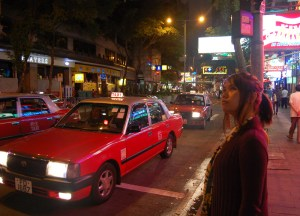 Taxi in Wan Chai, Hong Kong by Train Travel, MTR Top Attractions, Asia