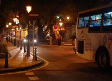 Quiet Streets, Taipa Macau Old Town, Portuguese Colonial Area, SE Asia
