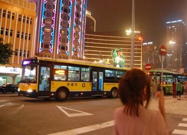 Getting Around, Taipa Macau Old Town, Portuguese Colonial Area, SE Asia