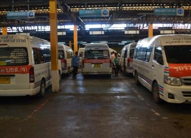 Victory Monument Minibus, Day Trip Bangkok to Kanchanaburi Tour, Thailand