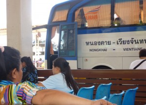 Bus times and ticket prices for Vientiane to Bangkok by Bus