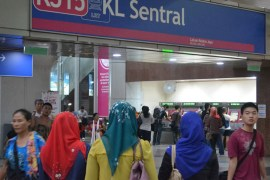 Best Areas to Stay in Kuala Lumpur for Tourists, KL Sentral Station