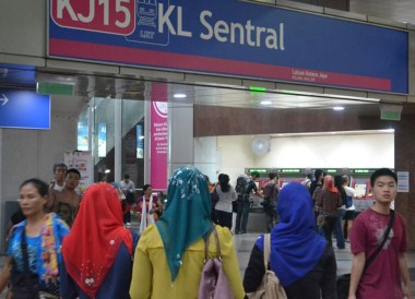 KL Sentral Station, Malaysia to Thailand by Train From Kuala Lumpur