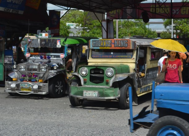 Travel by Jeepneys Transport in Manila, Philippines, Southeast Asia
