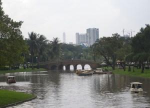 Baiyoke Skytower, Chatuchak Park Bangkok, Park Life in Southeast Asia