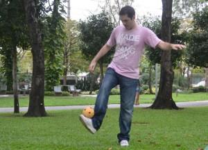 No Ball Games, Chatuchak Park Bangkok, Park Life in Southeast Asia