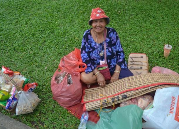 Picnic Mat Rental, Chatuchak Park Bangkok, Park Life in Southeast Asia