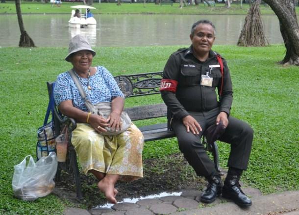 Park Ranger, Chatuchak Park Bangkok, Park Life in Southeast Asia