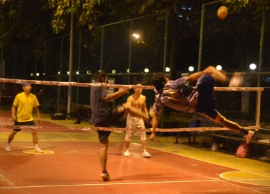 Sepak Takraw at Benjasiri Park, Top 10 Bangkok Attractions, Experiences Thailand
